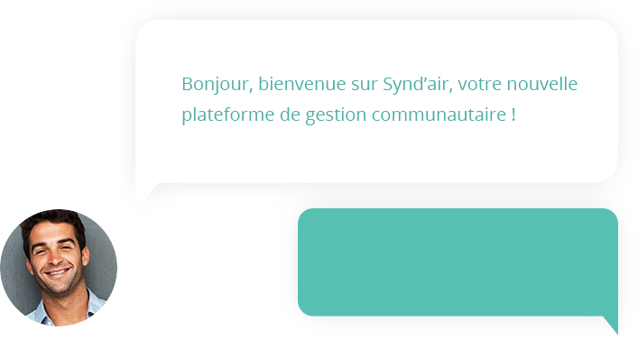 Outil de tchat Synd'air